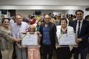 Por iniciativa de Domingos Paula, Câmara outorga títulos de cidadania anapolina a duas moradoras do bairro de Lourdes