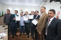 Por iniciativa do vereador João da Luz, Câmara homenageia ex-servidores da Celg de Anápolis