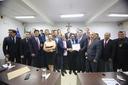 Por iniciativa dos vereadores Domingos e Américo, Câmara presta homenagem à empresa Braimfarma