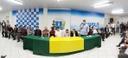 Prefeito e vereadores assinam ordem de serviço para construção de feirões cobertos em Anápolis