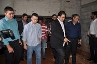 Prefeito Roberto Naves e vereadores prometem unir forças para a retomada da obra da Câmara Municipal de Anápolis