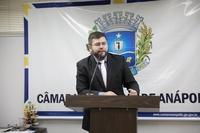 Presidente Amilton comemora conquista do Passe Livre Estudantil para Anápolis