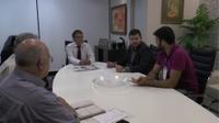 Presidente Amilton e diretores visitam conselheiro Joaquim Alves Neto para estreitar laços com o TCM