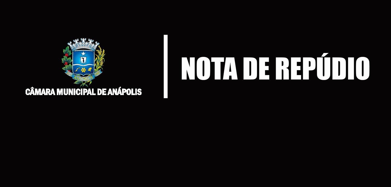 Presidente Amilton Filho assina nota de repúdio sobre transferência de presos para Anápolis