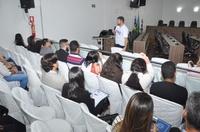 Presidente Amilton Filho fala sobre Processo Legislativo e Regimento Interno