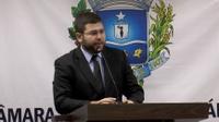 Presidente Amilton Filho ressalta início da reforma da unidade de saúde do Jardim Alexandrina