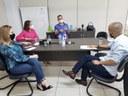 Professor Marcos avalia retorno das aulas presenciais com gestores da educação municipal