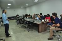 Professor Marcos realiza planejamento estratégico do mandato com seus colaboradores