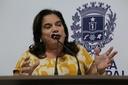 Professora Geli defende políticas públicas de inclusão e elogia Associação dos Surdos de Anápolis