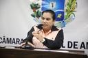 Professora Geli informa vereadores de curso da Escola do Legislativo com presença do TCM
