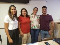Professora Geli ministra palestra referente à Inclusão Escolar no Instituto Federal de Goiás
