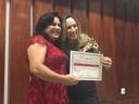 Professora Geli recebe título 'Mulheres de Luta', pelo trabalho de valorização da mulher