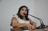 Professora Geli repercute debate no IFG sobre rede de proteção para as mulheres de Anápolis