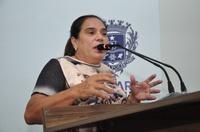 Professora Geli Sanches ressalta melhorias que foram levadas para região do Vivian Parque