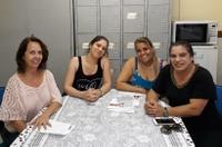 Professora Geli visita dezenas de escolas municipais no início do ano letivo