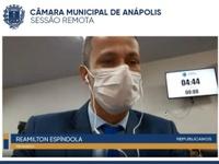 Reamilton defende que socorristas do Samu e dos Bombeiros sejam capacitados para atender autistas