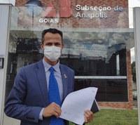 Reamilton Espíndola vai à OAB Anápolis para tratar sobre vacinação de pessoas com deficiência