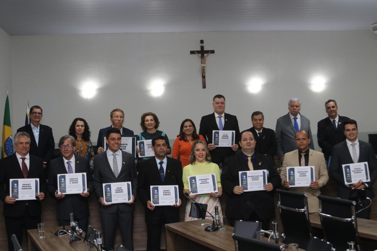 Sessão Solene celebra dia Municipal do Rotary