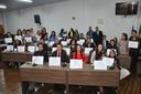 Sessão Solene encerra atividades da primeira edição do Parlamento Jovem