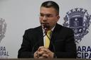 Teles Júnior representou a Câmara Municipal em posse de secretário Wilder Morais
