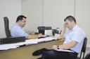 Teles Júnior se reúne com Secretário Interino de Saúde, Lucas Leite Amorin