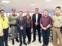 Teles Júnior visita Centro de Inteligência da SSP e busca aplicar experiência do projeto em Anápolis