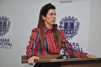 Thaís diz que PSL se movimenta pela permanência da Delegacia da Receita Federal em Anápolis