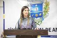 Thaís pede continuidade de projeto municipal na área do Esporte