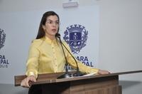 Thaís repercute presença da bancada feminina no 1º Encontro de Vereadoras e Mulheres na Política