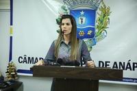 Thaís Souza diz que obras de ampliação do Hospital de Urgências foram retomadas