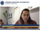 Trícia Barreto defende projeto que torna atividade física essencial em Anápolis