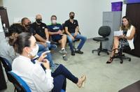 Doutora Trícia participa de reuniões com donos de academias e promotores de eventos