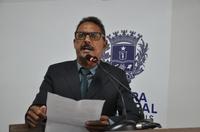 Vereador Valdete anuncia início das obras de construção da Escola Salvador Santos