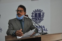 Valdete Fernandes elogia trabalho de pavimentação asfáltica no Polocentro 1ª Etapa
