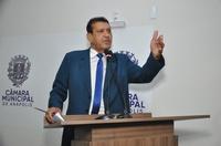 """Vereador Mauro Severiano diz que secretário estadual de Saúde, Ismael Alexandrino """"é alienígena"""""""