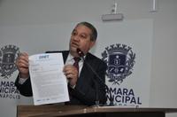 Vereador Pastor Elias pede que duplicação da BR-414 passe para responsabilidade do Dnit