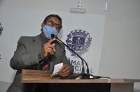 Vereador Valdete Fernandes confirma chegada do asfalto na região do Polocentro I
