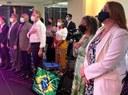 Vereadora Cleide Hilário participa de encontro com lideranças femininas em Goiânia