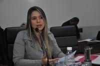 Vereadora Elinner Rosa deixa função de primeira secretária da Mesa Diretora