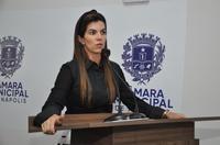 Vereadora Thaís Souza apoia permanência do colega de mandato Deusmar Japão no PSL