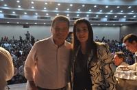 Vereadora Thaís Souza recebe apoio do governador Marconi Perillo