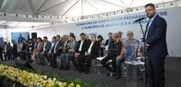 Vereadores presentes na assinatura de novo contrato entre Saneago e Prefeitura de Anápolis