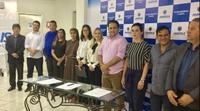 Vereadores acompanham assinatura de termo de convênio entre Prefeitura e três casas de apoio da cidade