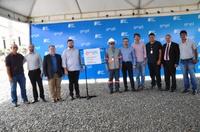 Vereadores acompanham Inauguração da subestação elétrica de Santana