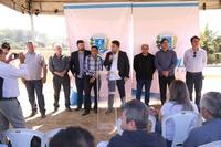 Vereadores acompanham início da obra de drenagem na Avenida Fernando Costa, que permitirá a conclusão do Parque da Vila Jaiara