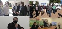 Vereadores acompanham liberação de áreas no Daia para novas empresas