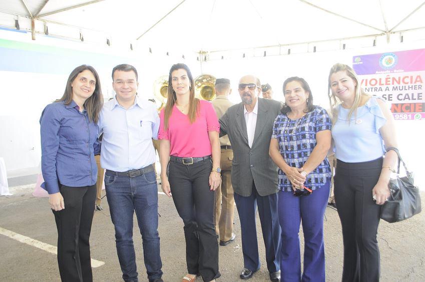 Vereadores comemoram mês das mulheres na Patrulha Maria da Penha