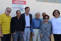 Vereadores conferem obras na Escola Municipal Lena Leão