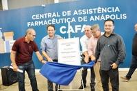 Vereadores e prefeito inauguram nova sede da Central de Assistência Farmacêutica (Cafa)