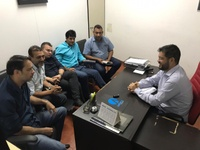Vereadores eleitos para Mesa Diretora se reúnem com secretário Municipal de Educação